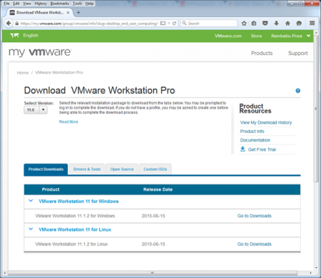 vmware-download