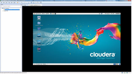 vmworkstation-cloudera-start