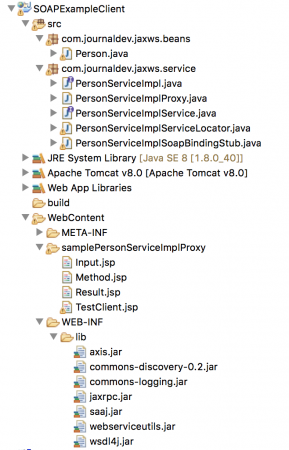 soap web service example client project eclipse, soap webservices in java