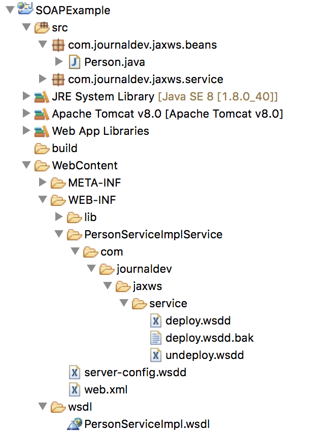 SOAP Webservices in Java Example using Eclipse - JournalDev
