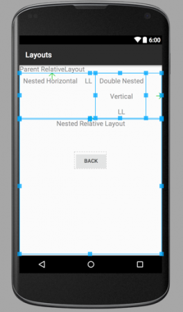 android layout example
