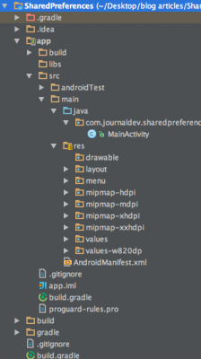 android-shared-preferences-project-view