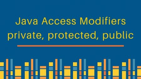 java access modifiers, protected, private, public