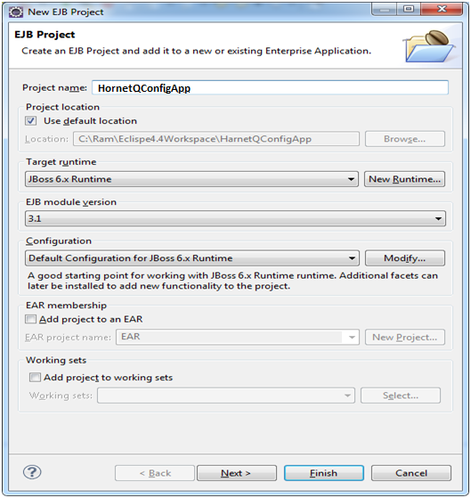 JMS 1 1 Producer and Consumer Example With Eclipse IDE, EJB