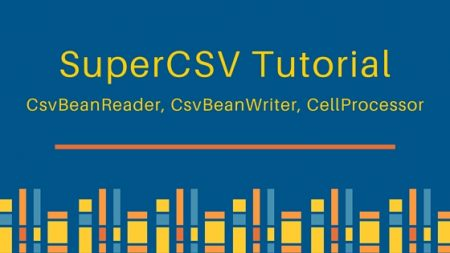 supercsv, supercsv tutorial,