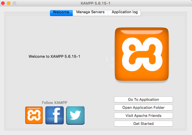 xampp application