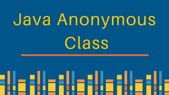 java anonymous class