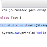 public static void main(String[] args) – Java main method