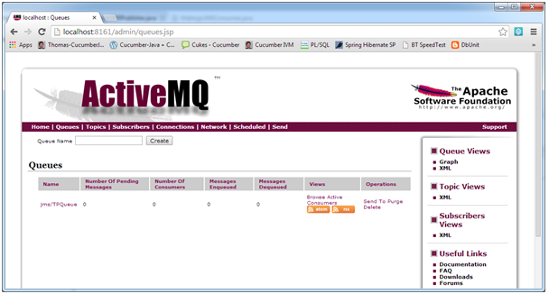 activemq queue created
