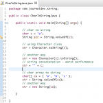Convert char to String in Java