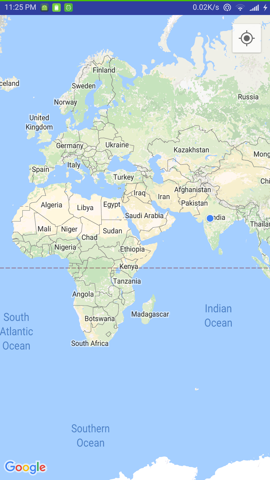 Android Google Maps Current Location, Night Mode Features - JournalDev