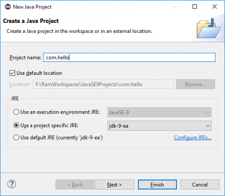 Create Our Required Source Folder U201ccom.hellou201d By Selection U201cmodule Info.javau201d  Option As Shown Below. This Source Folder Is The Root Folder Of Our  HelloWorld ...