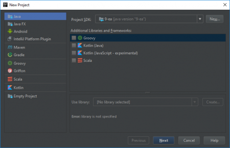 Intellij java version