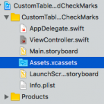 iOS Custom TableView With Images and Checkmarks