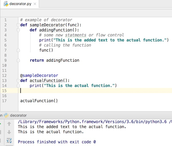 Python Decorator Example - JournalDev