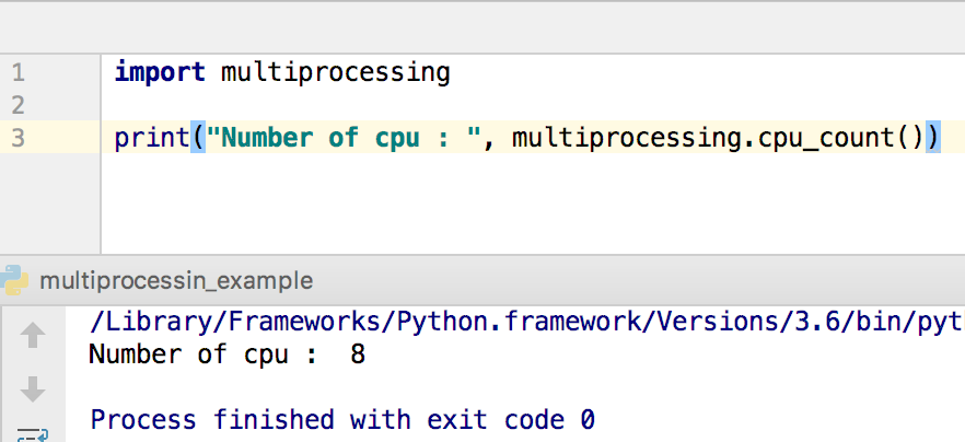 python multiprocessing example cpu count