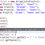 Java Collections sort()