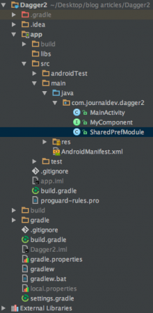 android-dagger2-project-structure