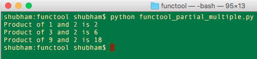 python functools partial multiple