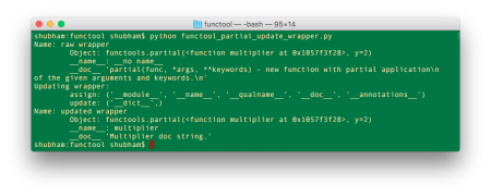 functools update wrapper