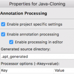 eclipse annotation processing