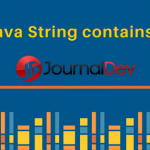 Java String contains()