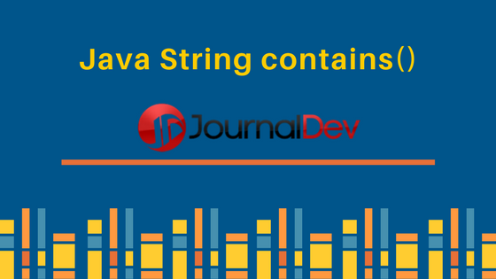java string contains