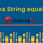 Java String equals()