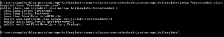 project lombok annotations runtime