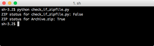 python zipfile is_zipfile