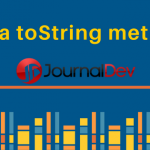 Java toString() method