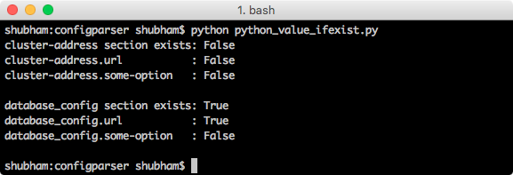 python config file example