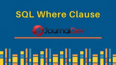 SQL where clause, SQL Query where statement example