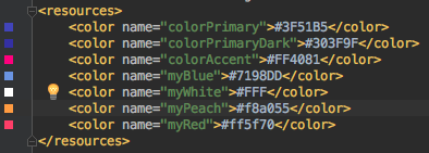 android button styling colors xml