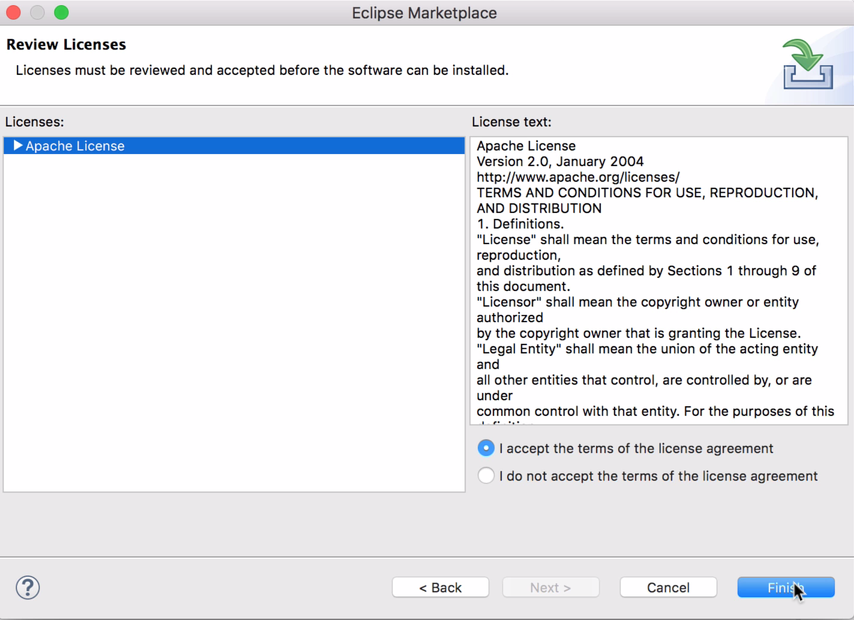 TestNG Eclipse License agreement
