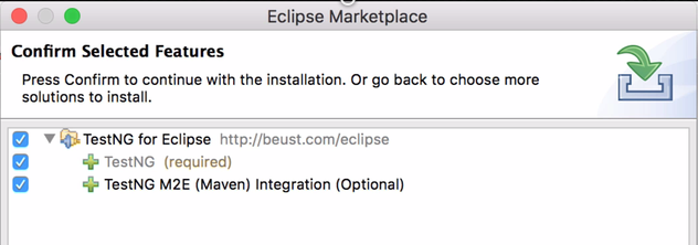 TestNG for Eclipse Features
