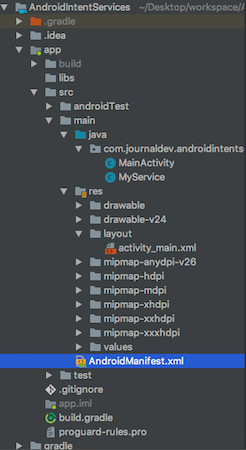 Android IntentService using BroadcastReceiver - JournalDev