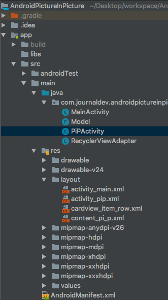 Android Oreo Picture In Picture - JournalDev