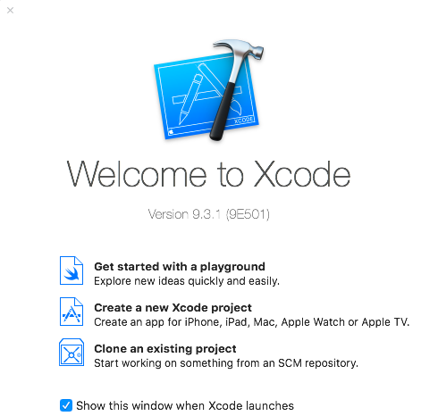 XCode create new project for CocoaPods