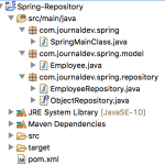 Spring Repository Example