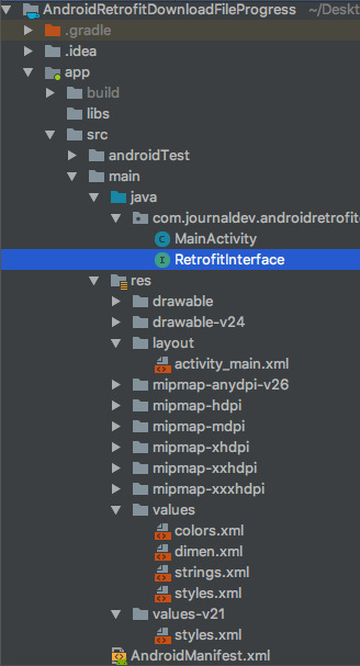 Android Retrofit Download File Progress - JournalDev