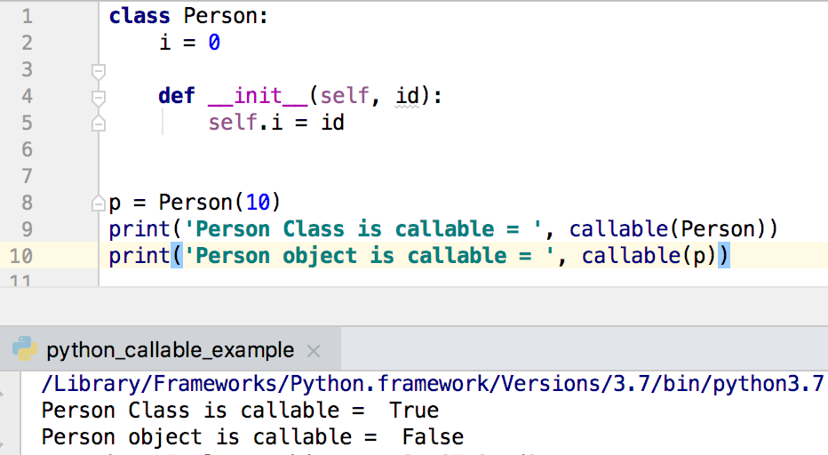 how to call self function in python