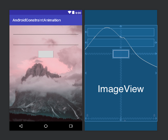 android constraint animation layout 2