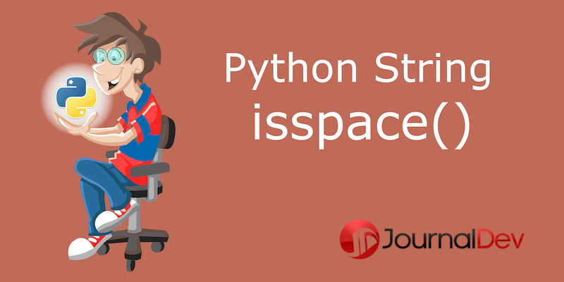 Python string isspace()