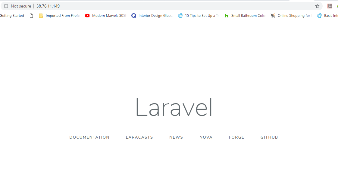 Laravel GUI on Ubuntu