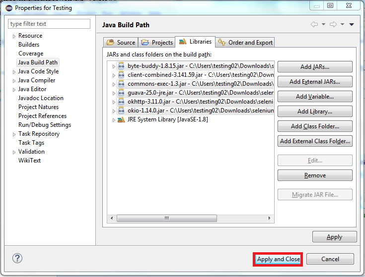 Download Selenium JARs and Configure in Eclipse - JournalDev