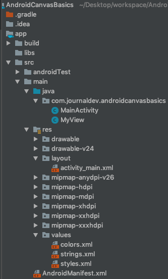 Android Canvas - JournalDev