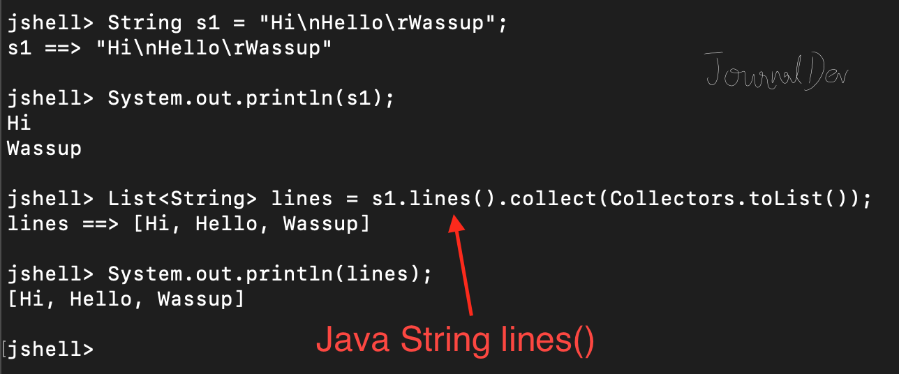 Java 11: New Methods in String Class - JournalDev