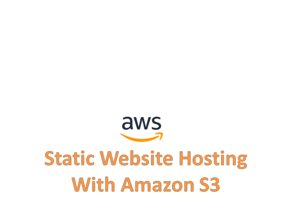 Hosting Static Website on Amazon S3