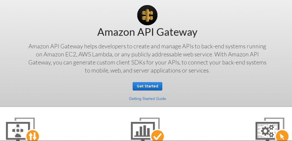 Get Started With Amazon Api Gateway